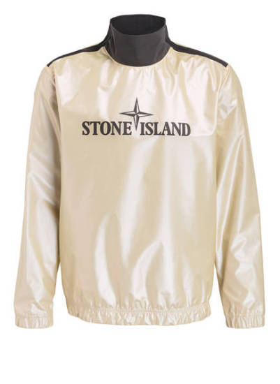 Luciano Jacke gold Stone Island