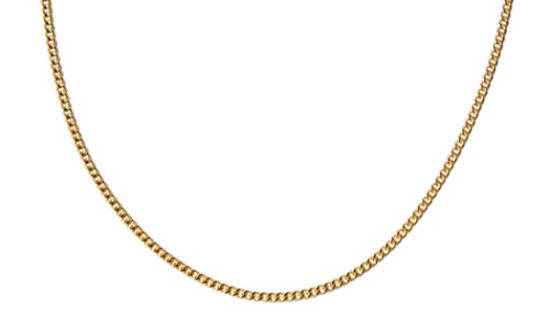 Luciano Style Kette gold lang