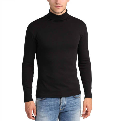 Luciano Rollkragenpullover schwarz Alternative