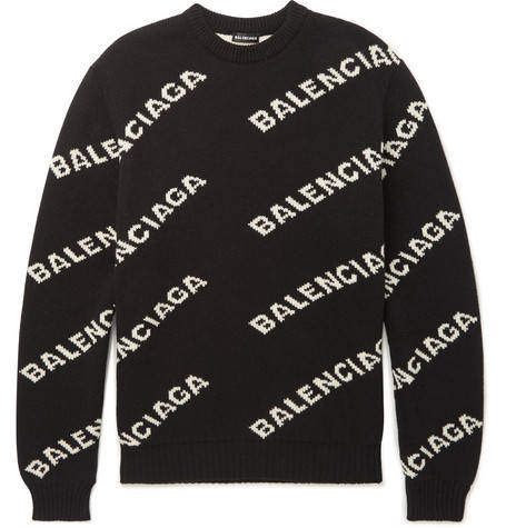 Miami Yacine Strickpullover Balenciaga All Over