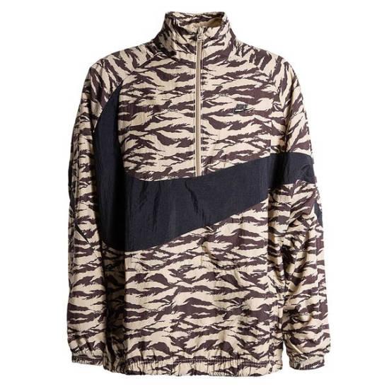 Nike Swoosh Camo Jacke beige