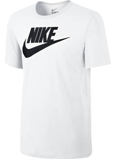 T-Shirt Nike Logo weiß