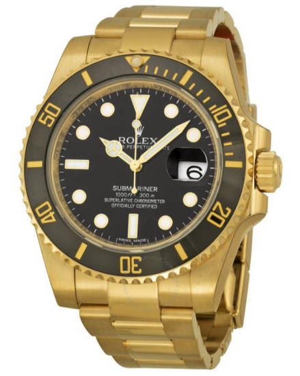 Mero Rolex Submariner Gold