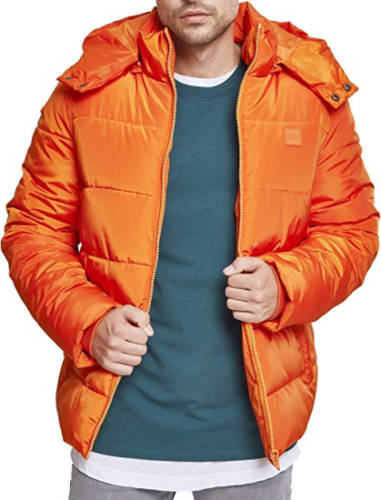 Hip Hop Jacke orange