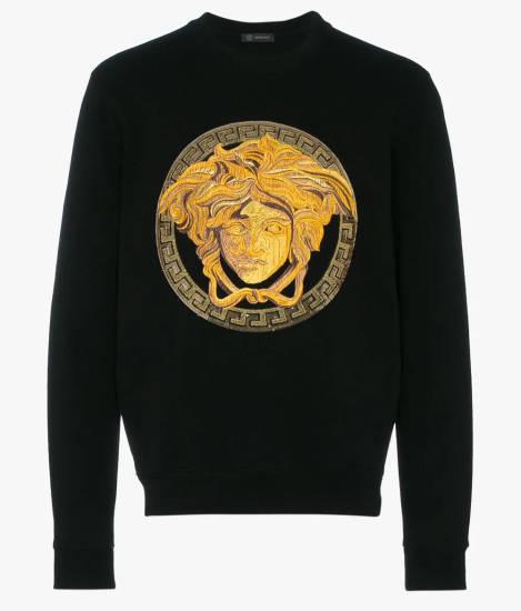 18 Karat Versace Pullover