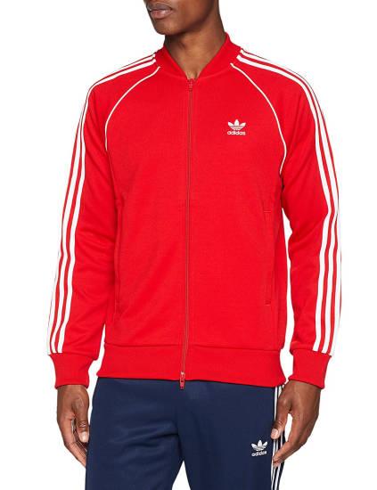 Adidas SST Trainingsanzug rot