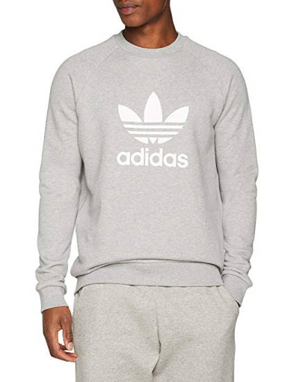 Adidas Sweatshirt grau