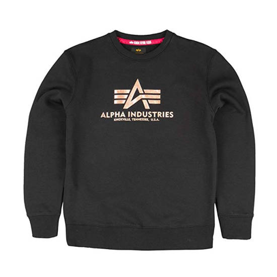 Alpha Industries Sweatshirt schwarz