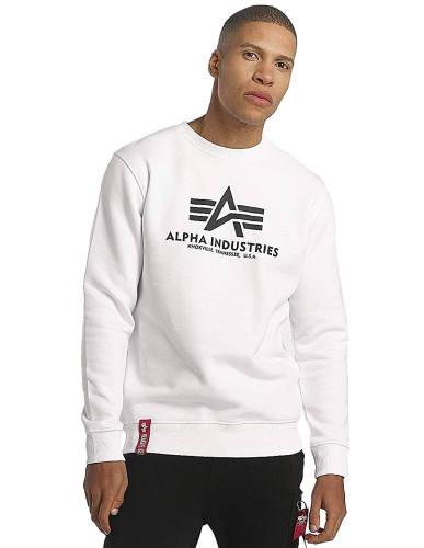 Alpha Industries Sweatshirt weiß