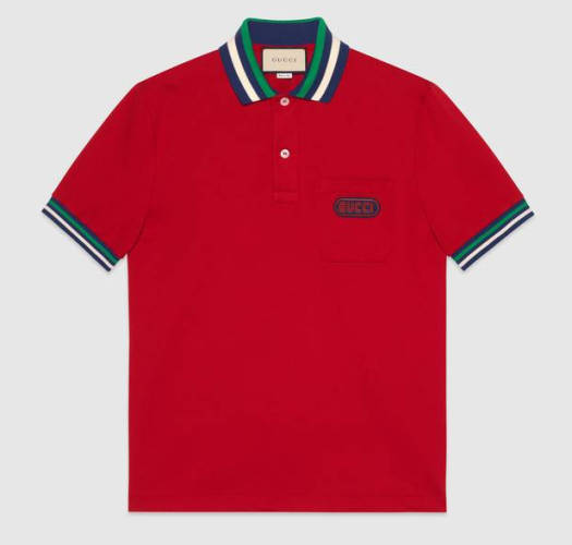 Poloshirt Gucci rot