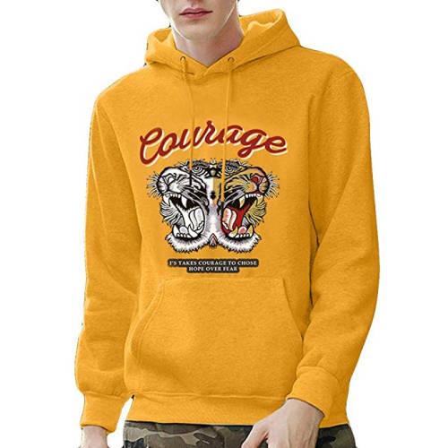 Courage Hoodie gelb