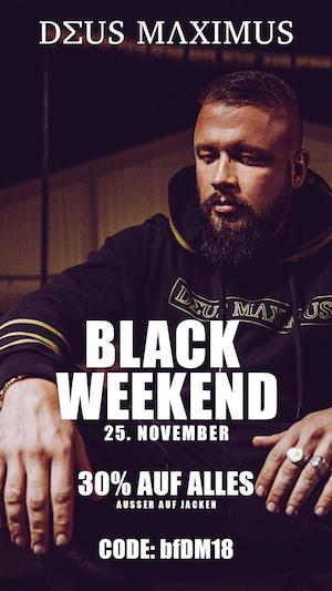 Deus Maximus Black Friday
