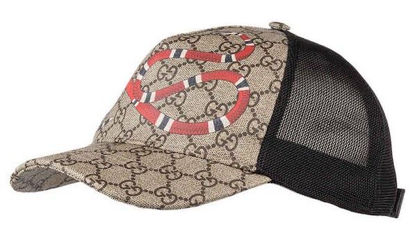 Gucci Cap Schlange