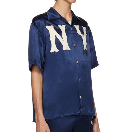 Gucci New York Yankees Hemd