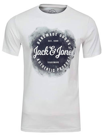 Jack & Jones T-Shirt weiß