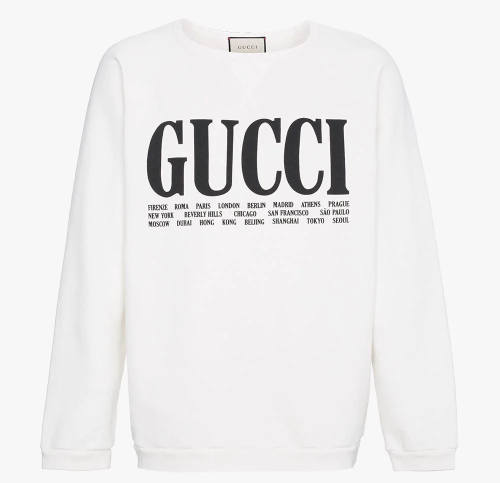 Joker Bra Gucci Sweatshirt