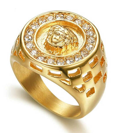 Kollegah Style Medusa Ring