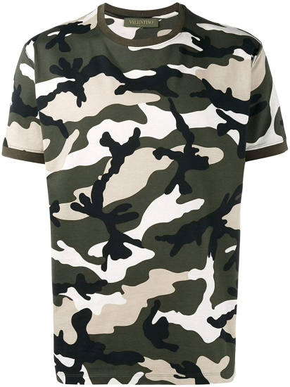 Luciano T-Shirt Valentino Camouflage