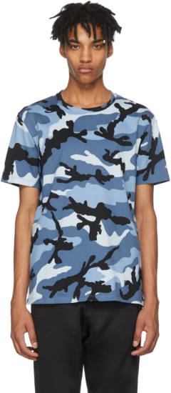 Luciano Valentino Camouflage T-Shirt