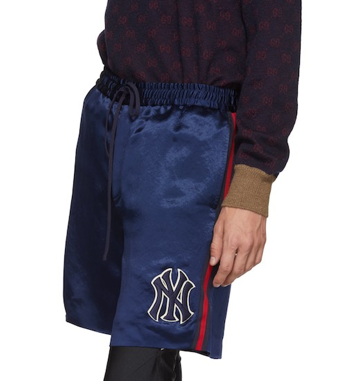New York Yankees Gucci Shorts