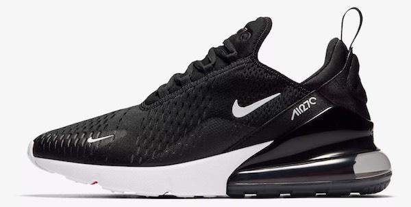 Nike Air Max 270 schwarz weiß Herren