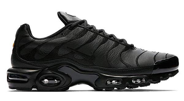Nike Air Max Plus schwarz Leder