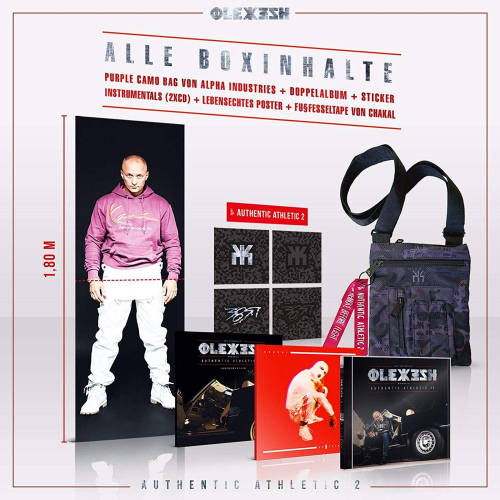Olexesh Authentic Athletic 2 Boxinhalt