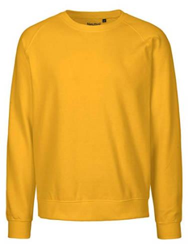 Pullover gelb Bio Baumwolle