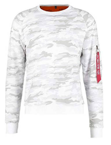 Samy Sweatshirt Alpha Industries Camouflage