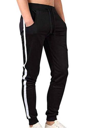 Hose schwarz mit Seitenstreifen