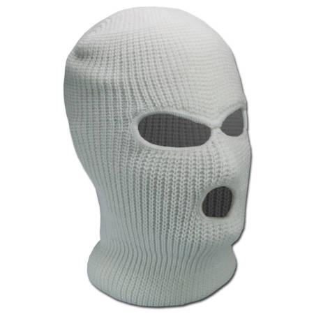 Sturmmaske weiß