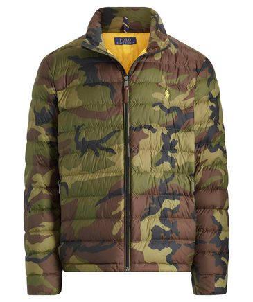 Ralph Lauren Camouflage Daunenjacke