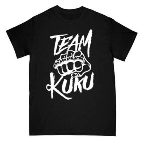 Team Kuku T-Shirt schwarz