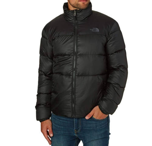 The North Face 1996 Retro Nupste Jacke schwarz