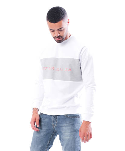 Wearmuda Sweatshirt weiß
