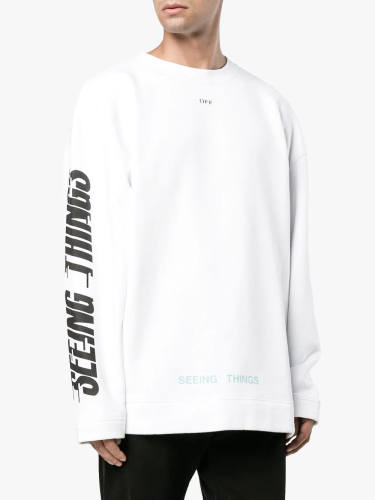 Bushido Off-White Sweatshirt