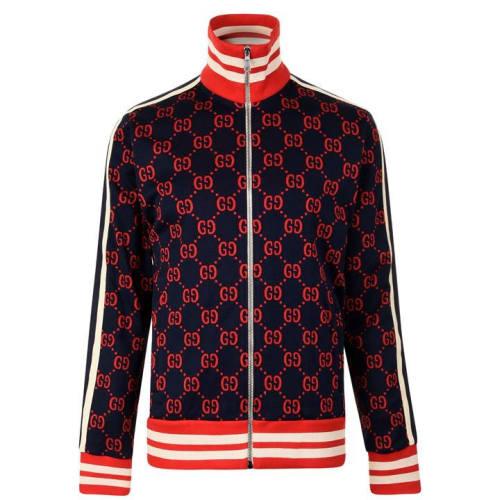 Gucci Trainingsjacke blau rot