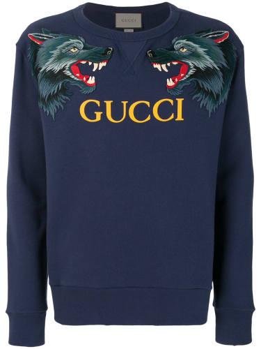 Gucci Wolve Print Sweatshirt