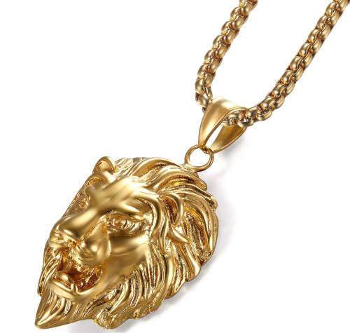 Kollegah Realtalk Halskette Löwenkopf
