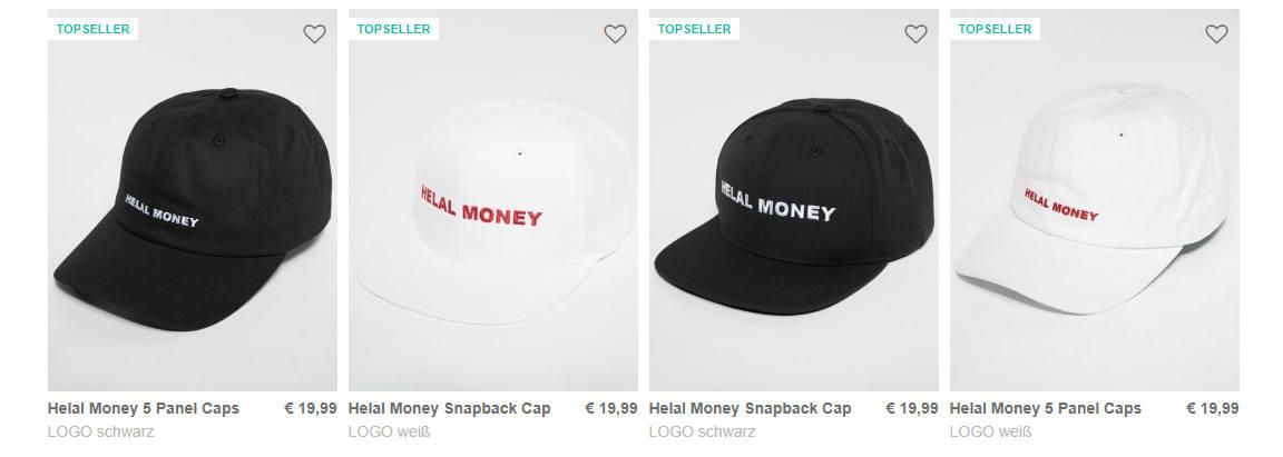 Helal Money Caps