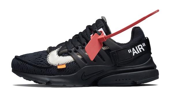 Nike Off-White Sneaker schwarz