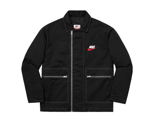Nike x Supreme Double Zip Quilted Work Jacket
