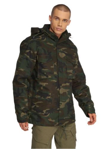 Winterjacke Camouflage Herren