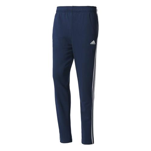 Adidas 3 Streifen Trainingshose blau
