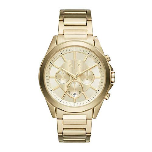 Armani Exchange Uhr gold