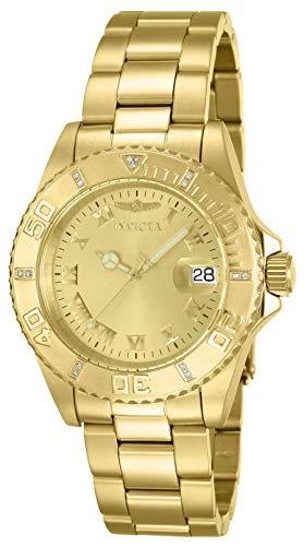 Invicta Gold Uhr