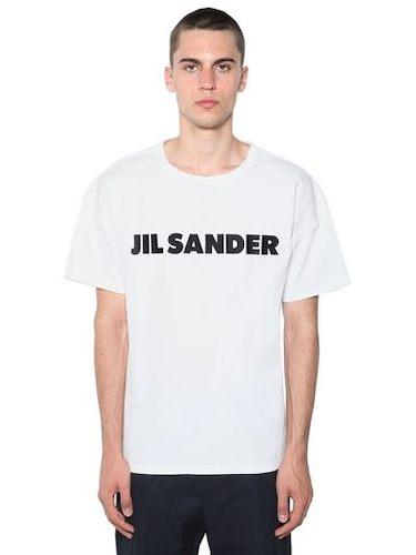Jil Sander T-Shirt weiß