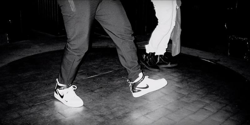 Luciano Weiß Maskiert Schuhe