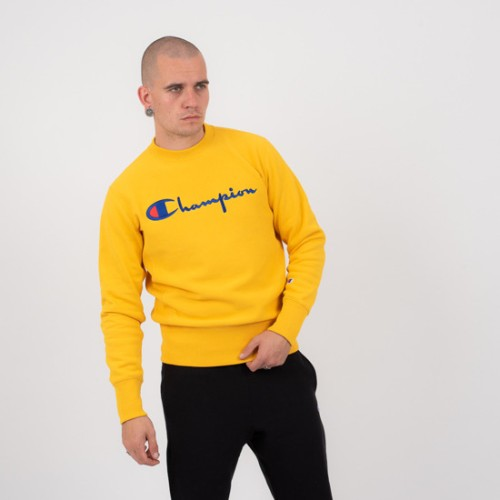 Champion Sweatshirt gelb gold