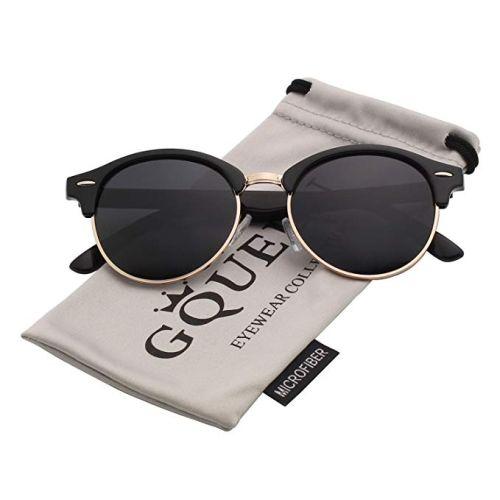 GQueen Sonnenbrille Halbrahmen